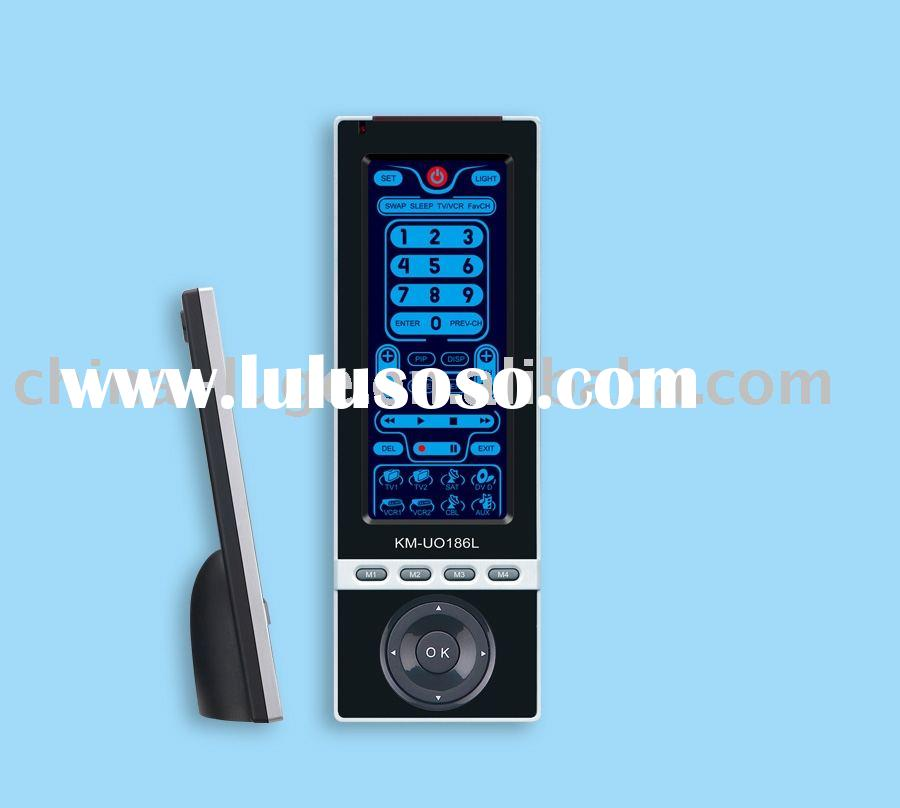 touch screen universal remote control with learning function