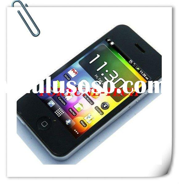 w801 3G WCDMA smartphone Unlocked 3.5 inch Capacitive touch screen Android 2.2 WIFI GPS mobile phone