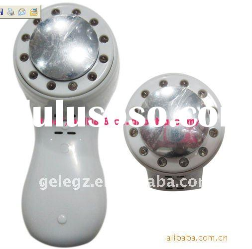 whitening facial cleanser /warm treatment home use device / warm therapy beauty device