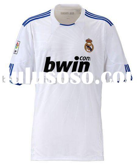 wholesale 10/11 New Season Real Madrid Home soccer jersey