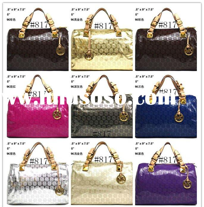 wholesale designer Michael Kors Grayson Sequin Satchel Bags, fashion lady MK handbags purse wallet 8