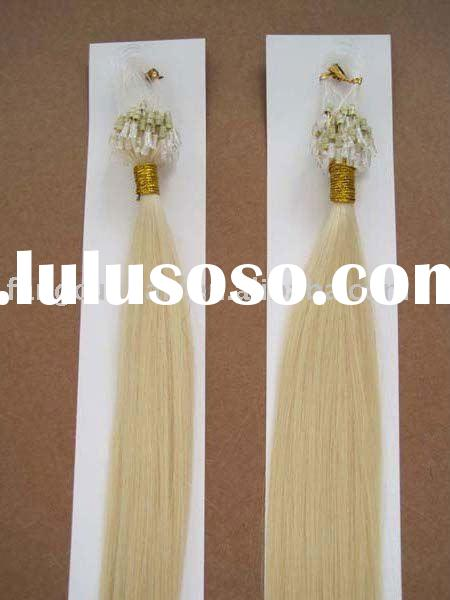 wholesale fish line hair extension/keratin hair extension
