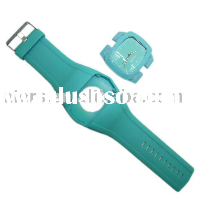 wholesale new fashion silicone odm watch 2011