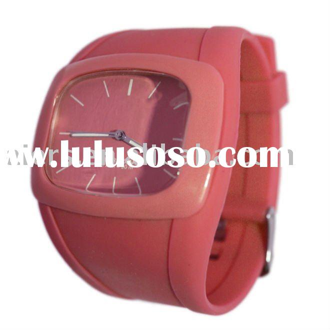 wholesale new fashion silicone watch 2011