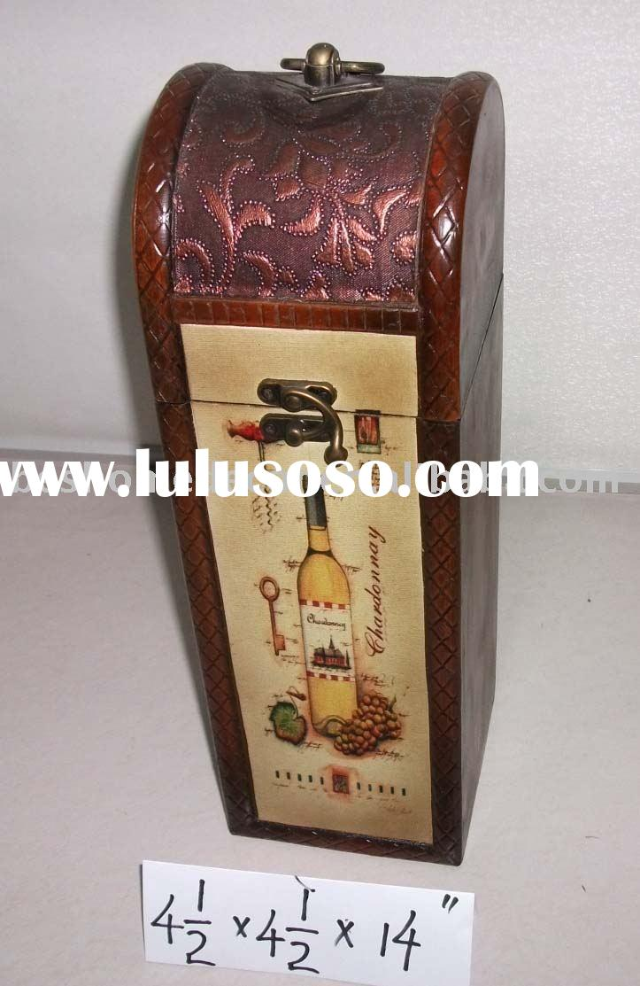wine bottle case, wine bottle container, wood wine packaging box