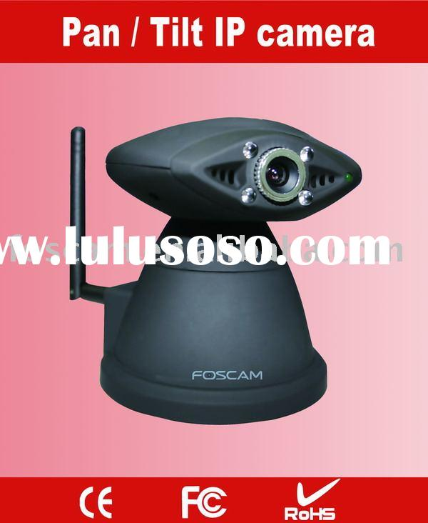wireless IP camera with remote Pan/Tilt control