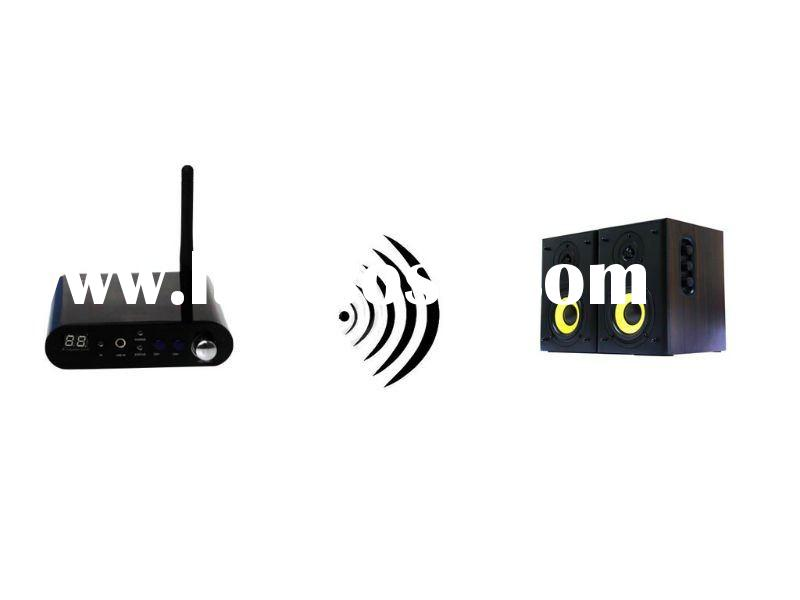 wireless audio system for home theater with digital technology