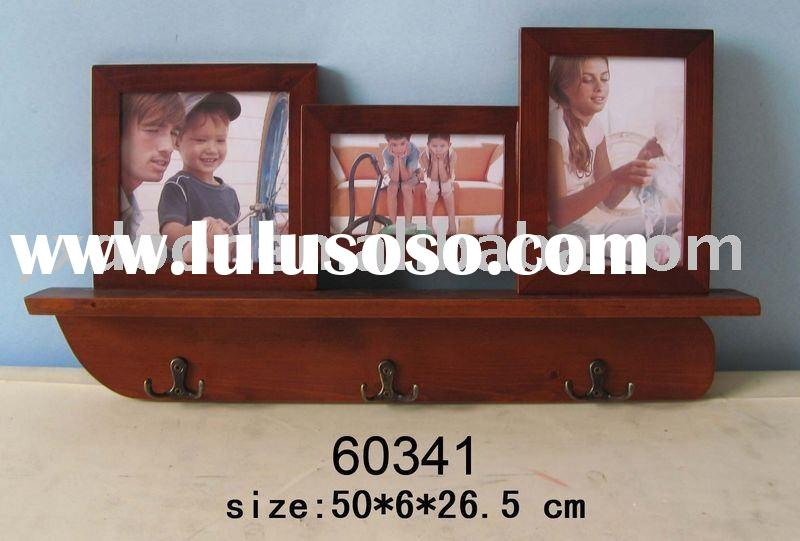 wooden photo frame / hanging wall / picture photo frame