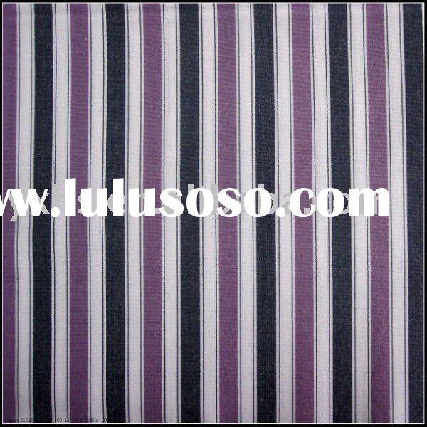 100% Cotton Yarn-dyed Stripe Fabric
