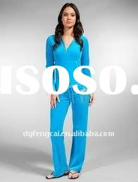 100% cotton tracksuit, womens tracksuit, lady tracksuit