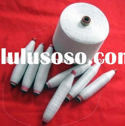 100% polyester recycled spun yarn