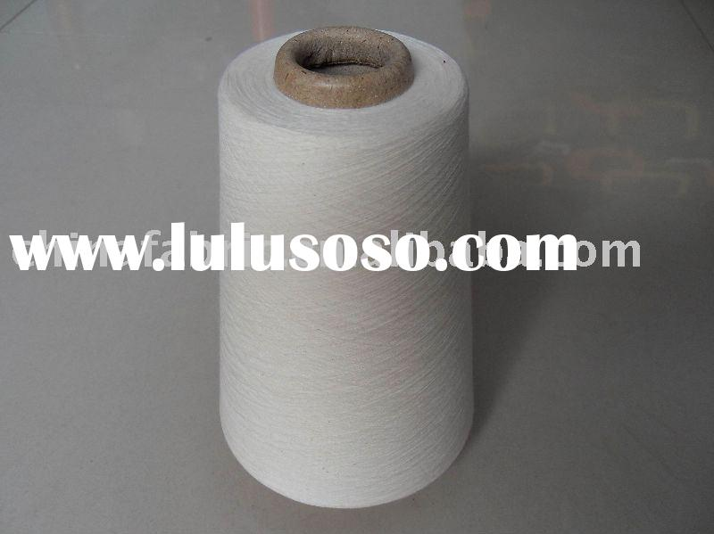100% recycled spun polyester yarn