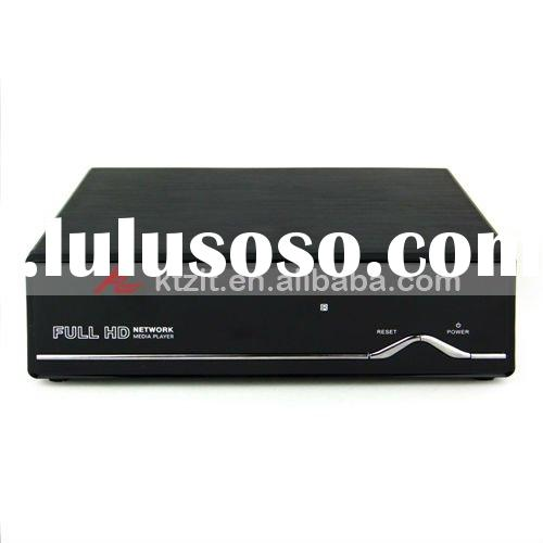 "1080P 3.5"" SATA HDD Wifi Network HDMI 1.3 MKV 3D Media Player With DVB-T/LAN Port/BT Download"