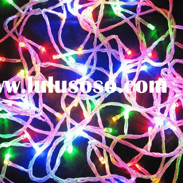 10M Ultra Bright 8 Color Mode 70 LED Christmas Decoration Fairy String Lights