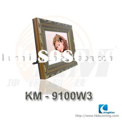 10.4 inch wooden digital photo frame