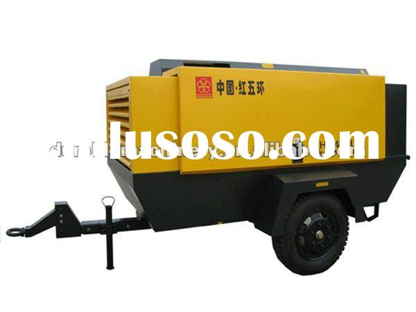 110KW Diesel Portable Screw Air Compressor