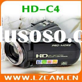 12MP 2.7 inch TFT LCD 8xdigital zoom anti-shake OEM Digital Video Camera,Camcorder HD-C4