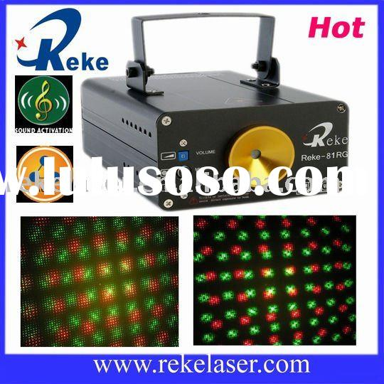 130mw red and green firefly twinkling stage laser light