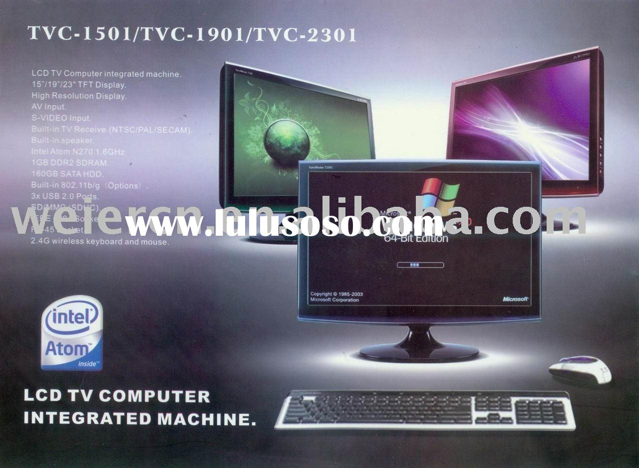 15~23inch LCD TV computer integrated monitor