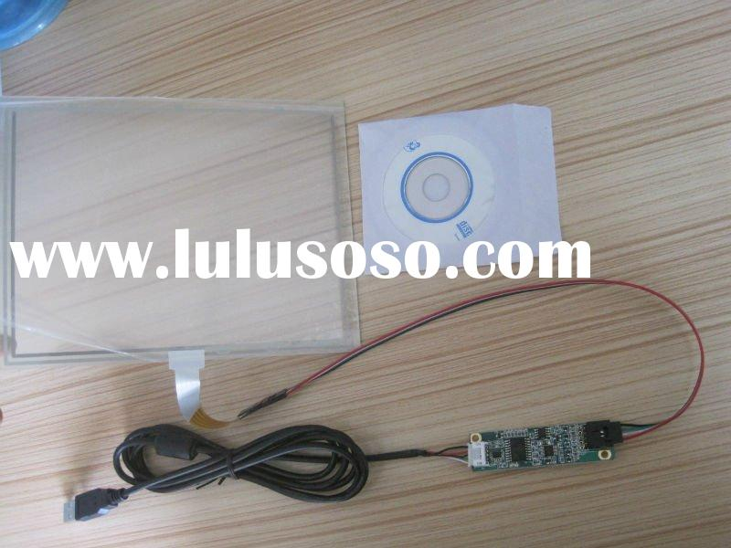 "15"" 5wire resistive for lap top usb touch screen panel kit."