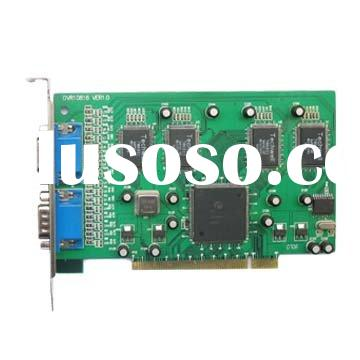 16ch video DVR board/H.264 PC-based DVR card
