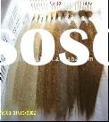 "18"" Hand Made 100% Human Hair Yaki Bulk Braiding Hair"