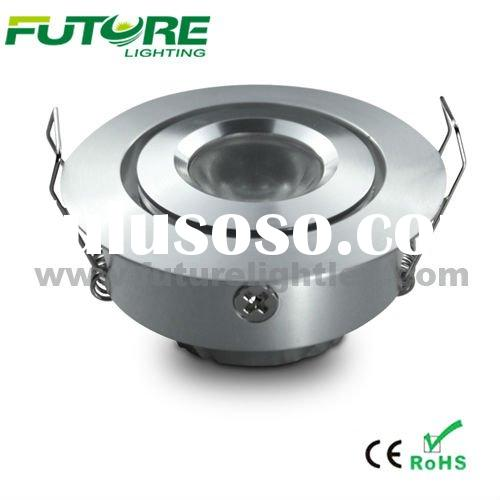 1W or 3W high power LED Down Light,high power cabinet light