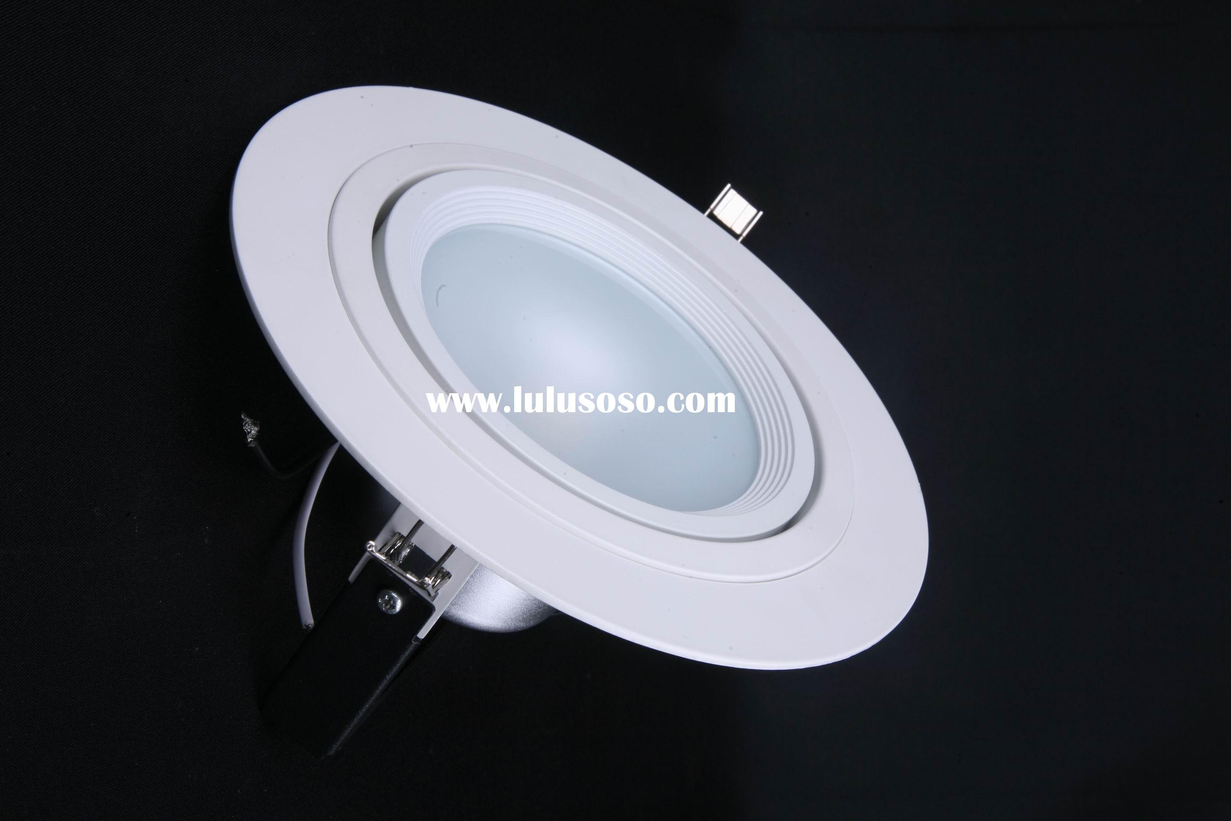 1x15 W dimmable high power warm white led recessed downlight
