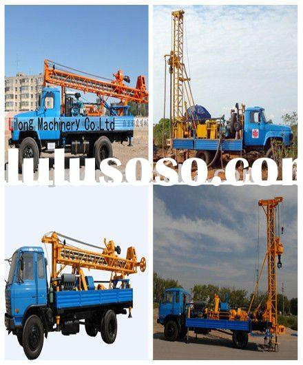 200m portable water well drilling rig