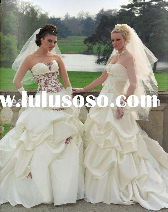 2010 New Fashion Vintage Wedding Dress Bridal Gown CAC406