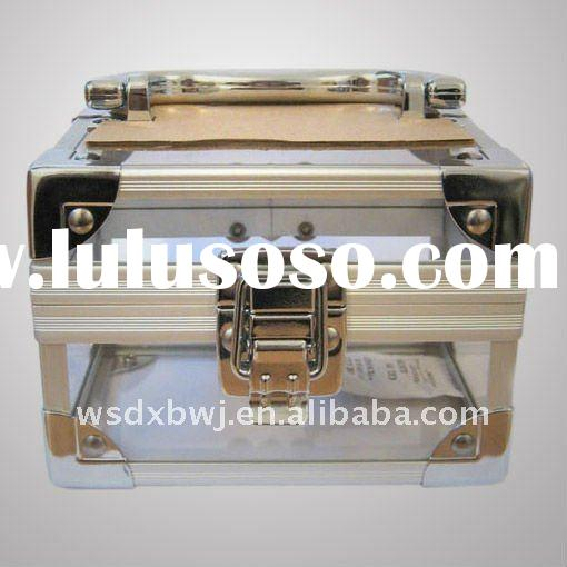 2011 Durable Acrylic Aluminum beauty case box