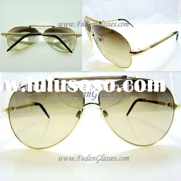 2011 New Style RC299 D26M Gold Brown lens Original Sunglasses Name Brand Authentic Sunglasses