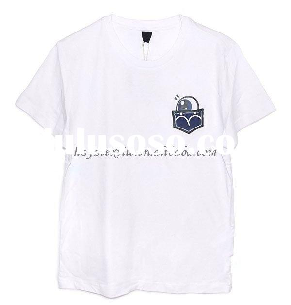 2011 men's fashion & simple round collar short sleeve summer t-shirt