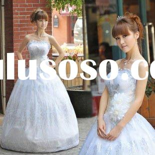 2011 new Kind bridal wear white wedding dress princess wedding dress Korean LF1226