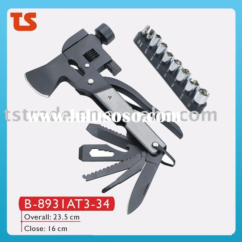 2012 Axe Hammer/Axe multi tool/Axe/Hand tools/Multi knife ( B-8931AT3-34 )