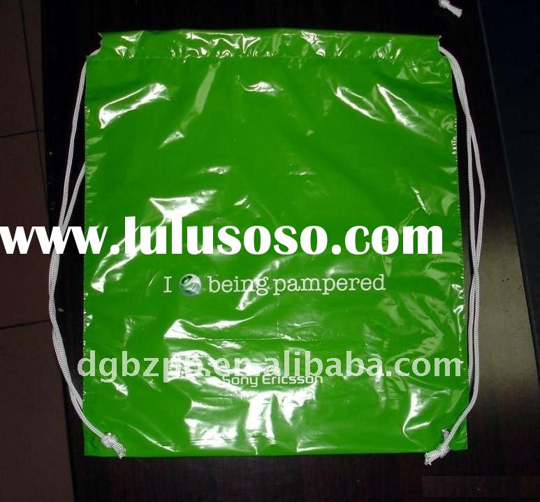 2012-BZ beautiful fashion leisure sports plastic gym shoulder bag/multifunction hot spring packaging