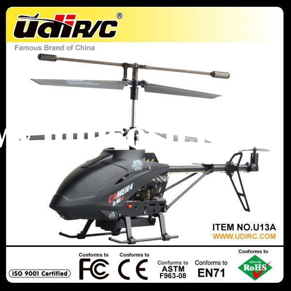 2012 Hottest Udirc 2.4G Metal RC Helicopter with Camera U13A RC TOY