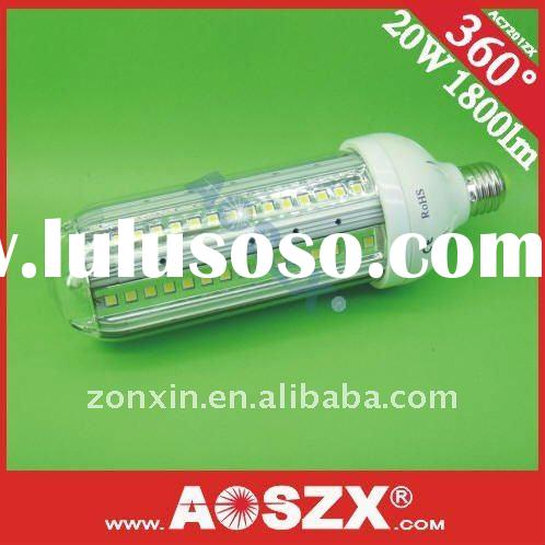 2012 NEW! 12VDC 20W SMD 5050 LED corn light bulbs 2000LM 24VDC high power E27 outdoor led corn light
