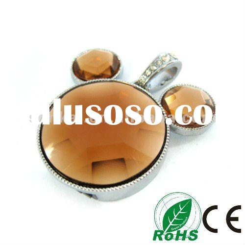 2012 Promotional gifts jewelry usb flash memory