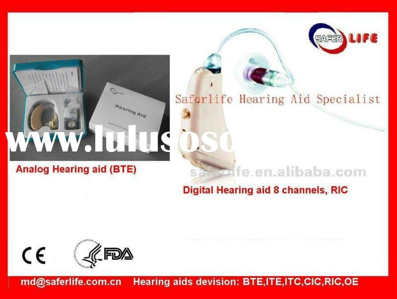 2012 hot sale Proffessional hearing aid price with battery audiogram Programmable open fit digital s
