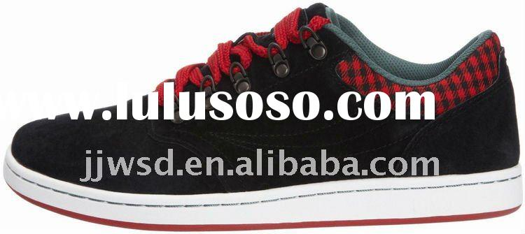 2012 lastest design of men's skateboard shoes