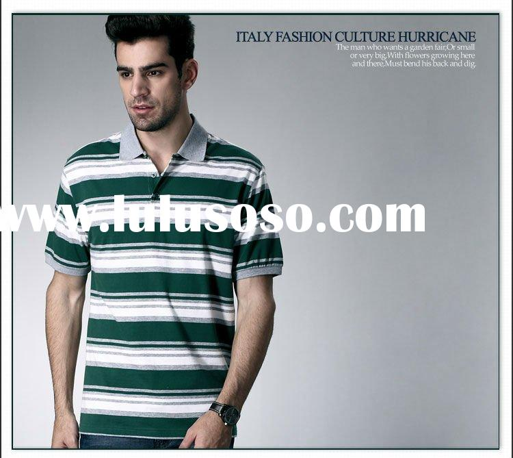 2012 men's high quality brand polo t shirt cotton/polyester