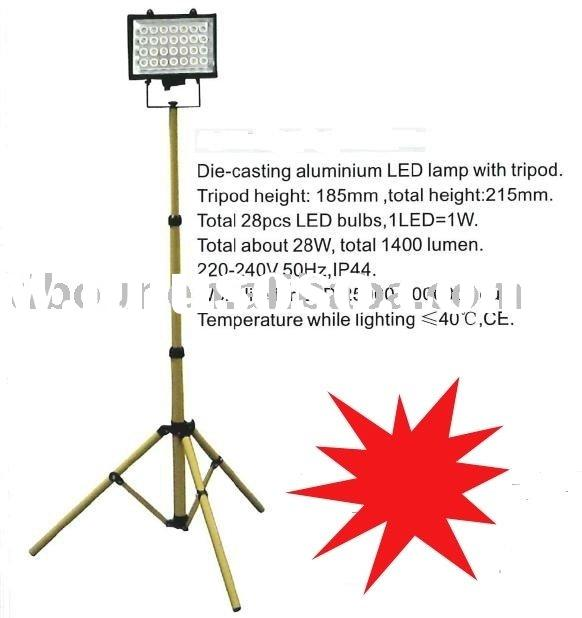28W Tripod Aluminium die-casting body High Power LED Flood Light(new products)