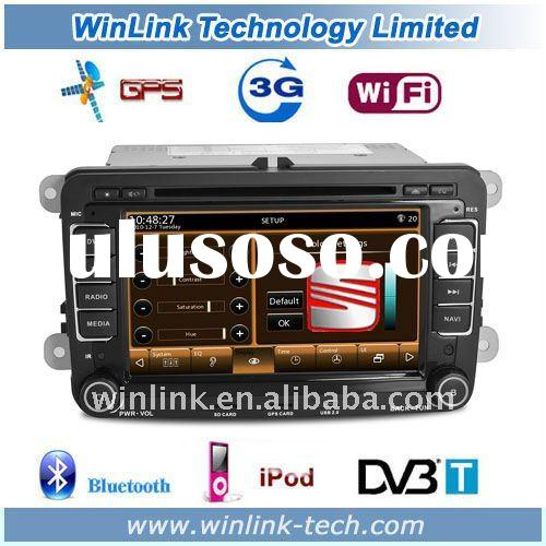 2 Din 7 Inch Touch Screen WIFI 3G Car DVD Player For VW passat B6/B7/CC Jetta/Golf Caddy/EosTiguan/T
