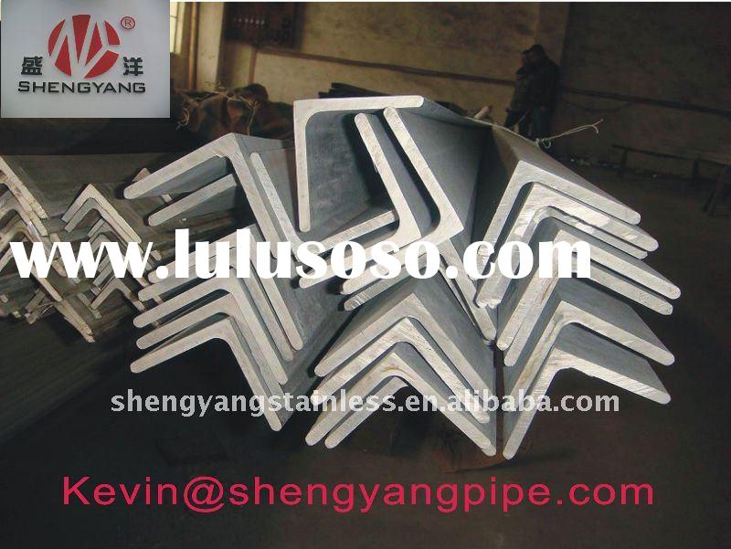 304 stainless steel angle bar No.1 finish