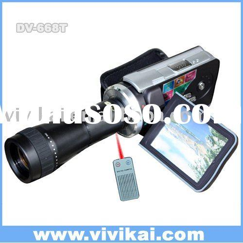 "3.0""TFT +Telescope Lens 720p High definition digital vedio camera SUPPOTR OF ALL"