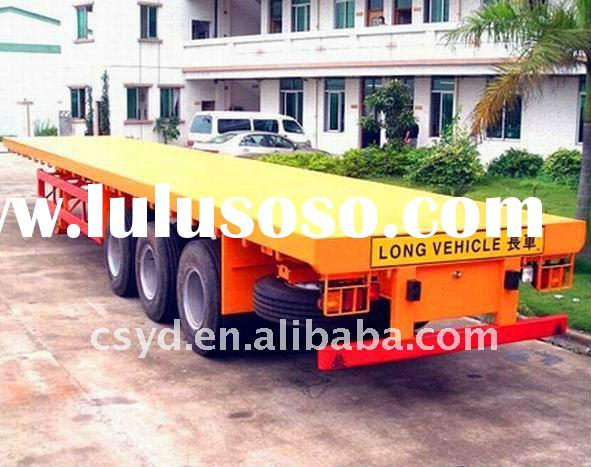 3 Axle Flatbed Semi-trailer /40ft Container trailer