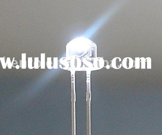 4.8mm white straw hat led diodes