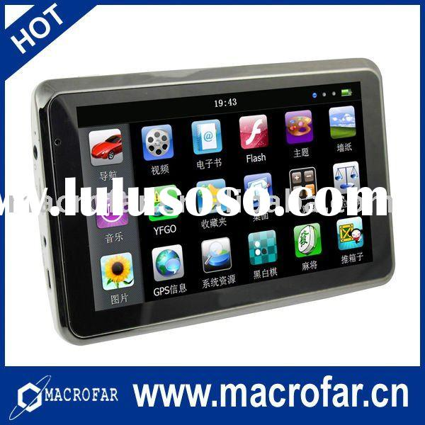 5 inch touch screen car stereo gps(MF-br-5036)