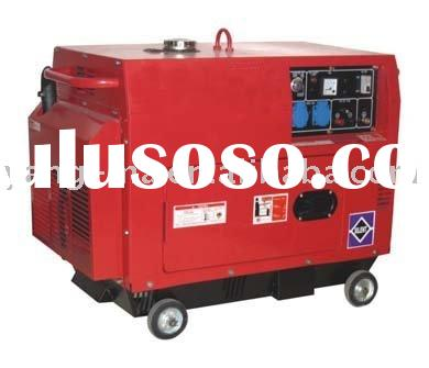 6KW portable Silent engine power diesel generator set